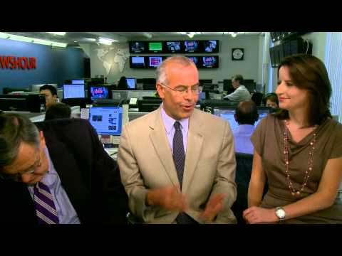 Shields, Brooks On Romney's Comedy Act, NewsHour Wonkiness