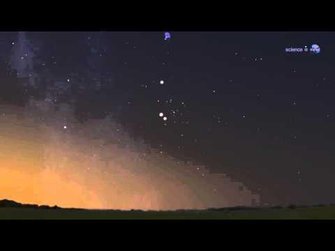 ScienceCasts: A Good Reason to Wake Up at Dawn