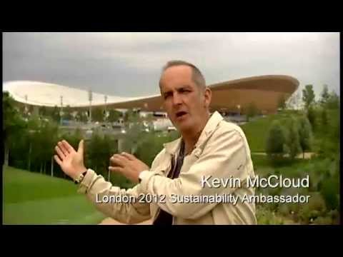 On the Olympic Park with Kevin McCloud