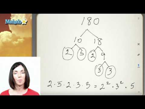 Prime Factorization (Example Problem 1)