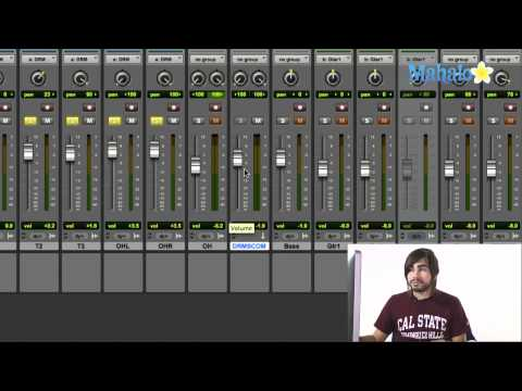 Writing Send Automation - Pro Tools 9