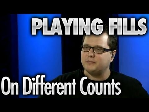 Playing Fills On Different Counts - Drum Lessons