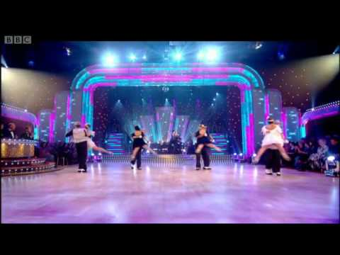 Swing Extreme Charleston and Anton & Erin's Quickstep - Strictly Come Dancing - BBC