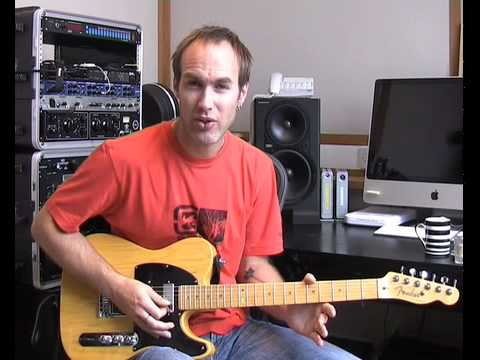 Vibrato #2of2 (Guitar Lesson TE-008) How to play
