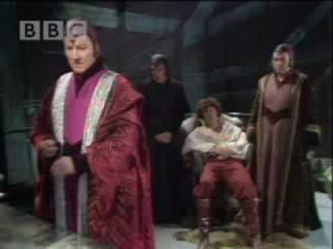 The doctor battles the master - Dr Who - BBC sci-fi