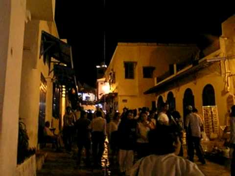Sidi Bou Said Street Scene, Tunisia