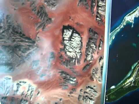Where in the World?  Determining location of satellite images