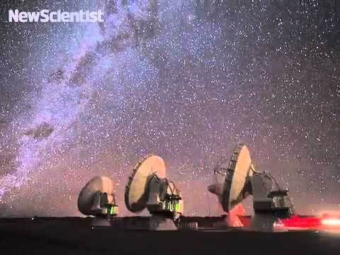 Telescope array syncs up to night sky