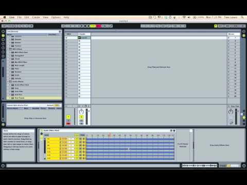 Triggering different Beat Repeats using a MIDI Keyboard in Ableton Live