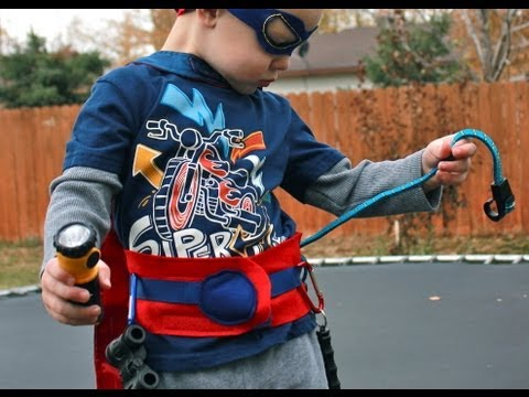 Sew A Superhero Mask & Utility Belt