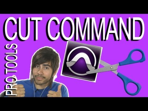 Using the Cut Command - Pro Tools 9
