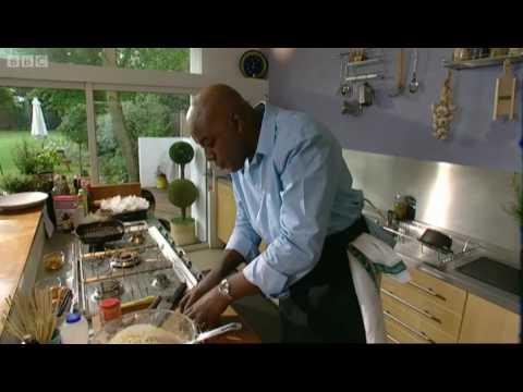 Raspberry and white chocolate muffins - Ainsley Harriott - BBC