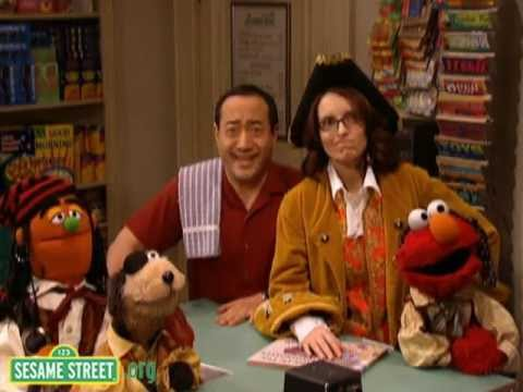 Sesame Street: A Squid Says the Alphabet with Tina Fey