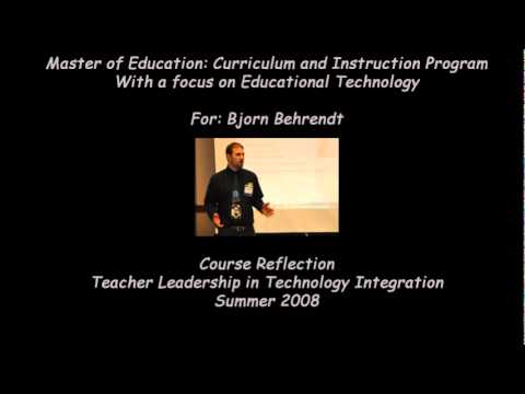 Teacher Leadership in Technology Integration