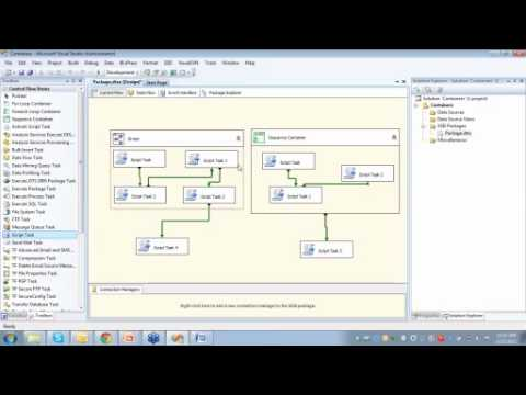 SSIS Video Using Containers in SSIS