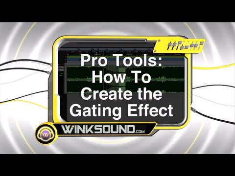 Pro Tools: How To Create the Gating Effect | WinkSound