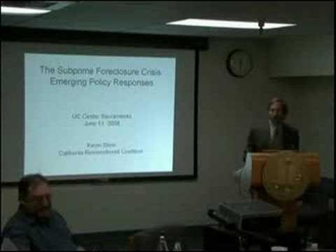 The Subprime/Foreclosure Crisis