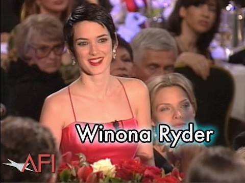 Winona Ryder Salutes Martin Scorsese at the AFI Life Achievement Award