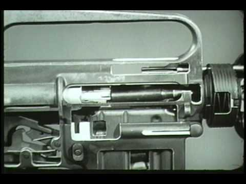 XM16E1 Rifle 5.56MM - Operating And Cycle Of Functioning