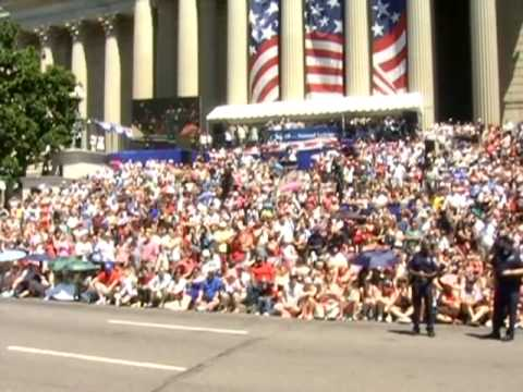 The Fourth of July at the National Archives - Our Float