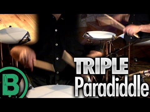 Triple Paradiddle - Drum Rudiment Lessons