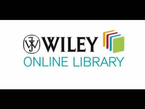 Wiley Online Library - Introductory Video