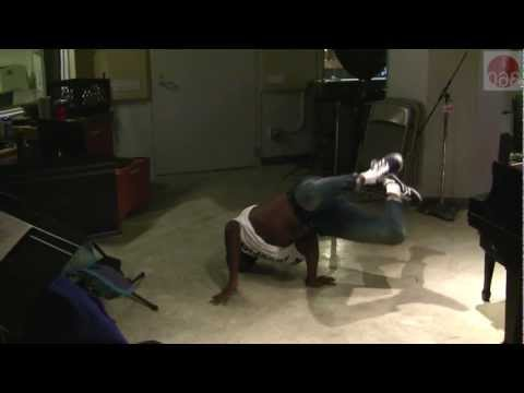 Studio 360: Harold O'Neal breakdances in the studio
