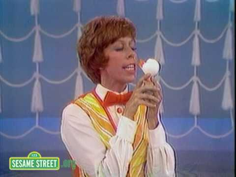 Sesame Street: Carol Burnett Kisses Rubber Duckie