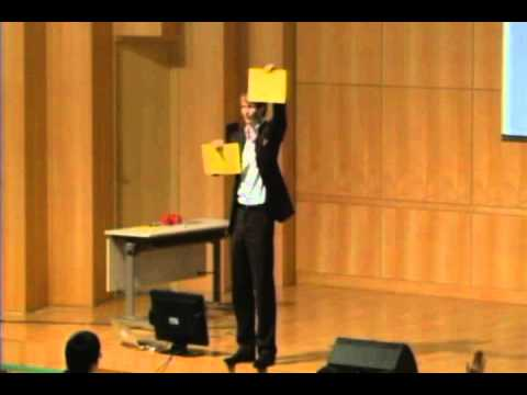 TEDxSookmyung-Ben A Ratje-Don't Talk Just Show How to Improve