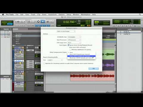 Using Pro Tools' ADC to time-align delays | lynda.com tutorial