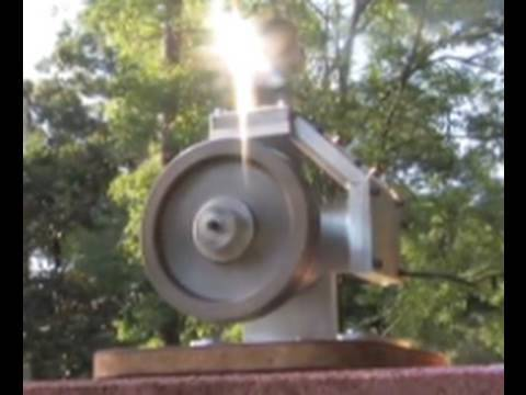 SOLAR STIRLING ENGINE ALPHA STIRLING idea High Torque DIY OFF THE SHELF STEAM ENGINE MOTOR