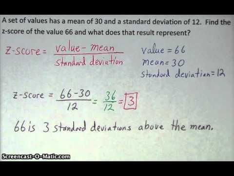 z-score - Algebra 2