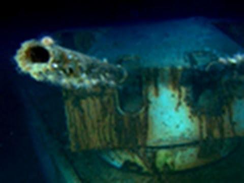 Underwater Nazi Wreckage