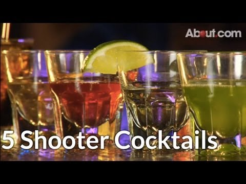 Top 5 Shooter Cocktail Drinks