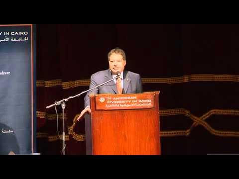 Nobel Laureate Ahmed Zewail Inaugurates Zewail Foundation Public Lecture Series at AUC