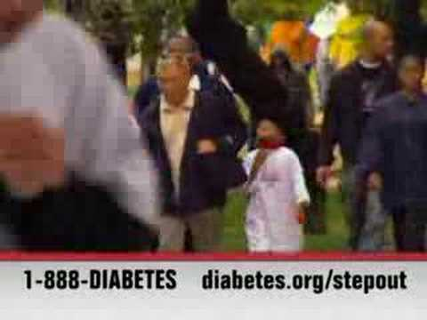 PSA: Step Out: Walk to Fight Diabetes (30 sec) - large video
