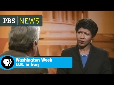 Washington Week | From the Vault: The War in Iraq Begins | PBS