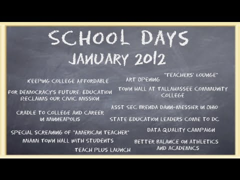 School Days January 2012