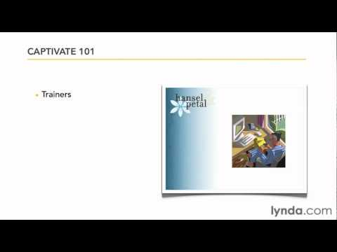 Presentation software overview: Captivate 5 | lynda.com