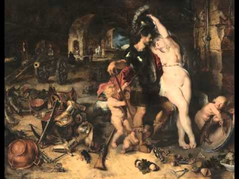 The Return from War: Mars Disarmed by Venus, Peter Paul Rubens