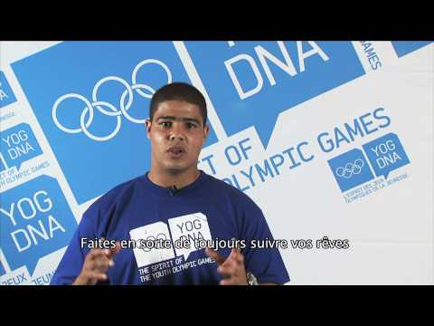 Young Ambassador - South Africa - Devon Van Der Merwe - Singapore 2010 Youth Olympic Games