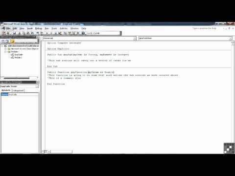 VBA for MS Access Tutorial | Declaring Parameters for Use in Procedures | InfiniteSkills