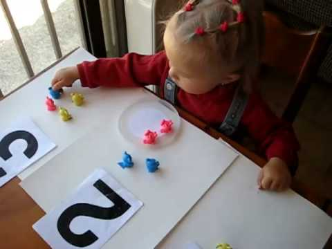 Toddler - Math. number sheets
