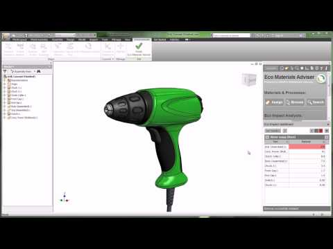 Sustainable Materials Selection Workflow with Autodesk Product Design Suite