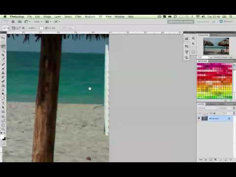 Photoshop CS5 : Content Aware Fill / New Feature