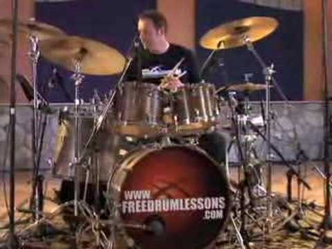 Snare/Bass Drum Comping - Drum Lessons