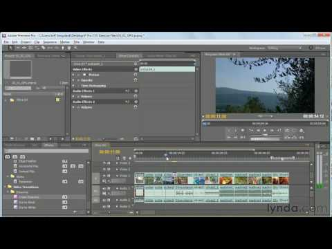 Premiere Pro: How to use GPU-accelerated effects | lynda.com tutorial
