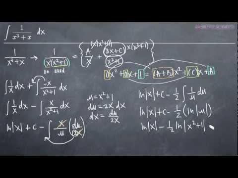 Partial Fractions - Distinct Quadratic Factors