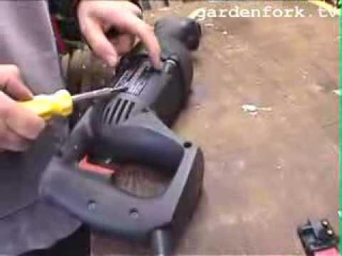Repair Power Tool  GardenFork.TV