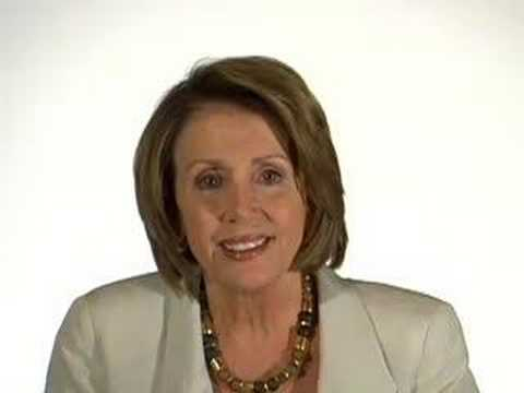 Nancy Pelosi talks about Hillary Clinton's candidacy